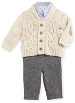 Miniclasix Cardigan Layette Set, Size 9-24 Months