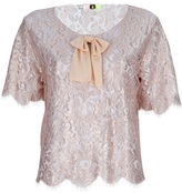 Msgm Lace Top
