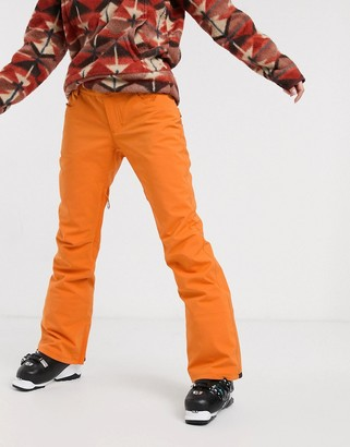 Billabong Terry ski pant in orange