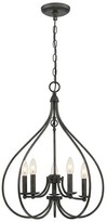 Lite Source Farrah 5 Light Chandelier - Dark Bronze