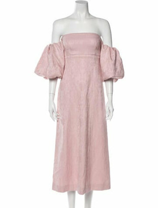 Mother of Pearl 2020 Long Dress Pink