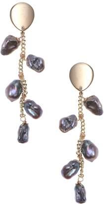 Nakamol Chicago Cultured Pearl Drop Earrings