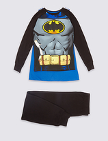 Marks and Spencer BatmanTM Long Sleeve Pyjamas (2-10 Years)