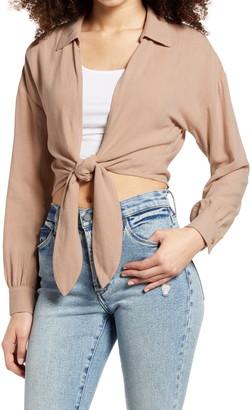 BP Tie Front Jacket