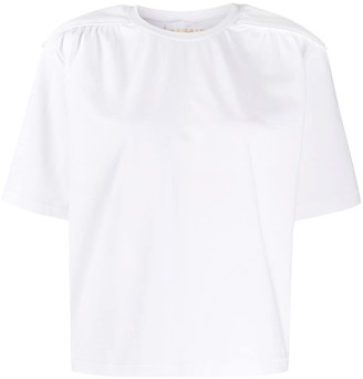 REMAIN piped-shoulder T-shirt