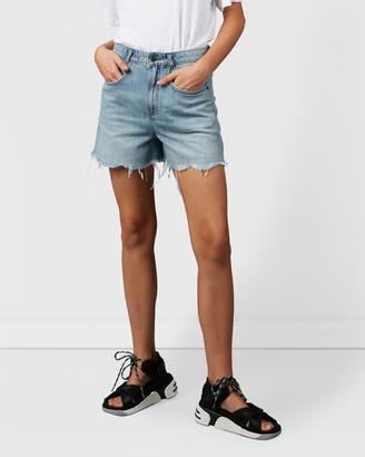 Nique Joja Distressed Denim Shorts