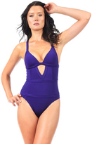 Voda Swim Loganberry Envy Push Up Structured One Piece