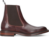 Barker Ashby leather Chelsea boots