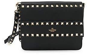 Valentino Women's Garavani Small Rockstud Leather Shoulder Bag