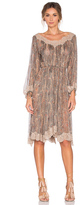 Zimmermann Master Eyelash Smock Dress