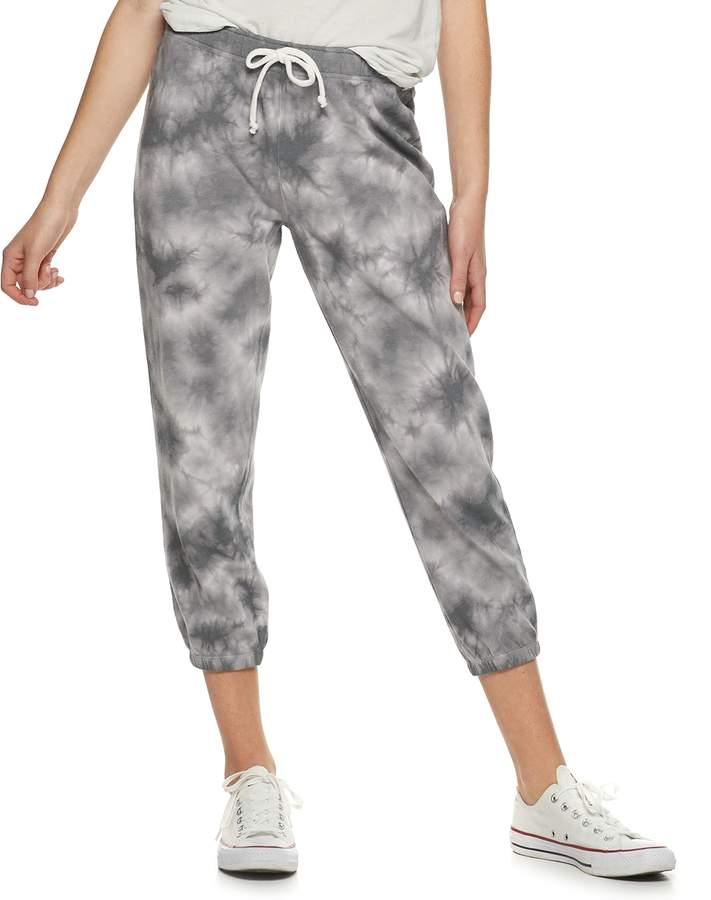 39da90297b9d38 Cropped Grey Joggers - ShopStyle