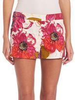Trina Turk Floral Printed Corbin 2 Shorts