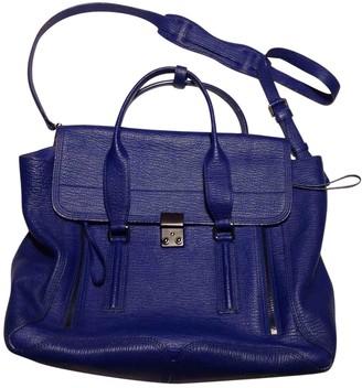 3.1 Phillip Lim Pashli Blue Leather Handbags