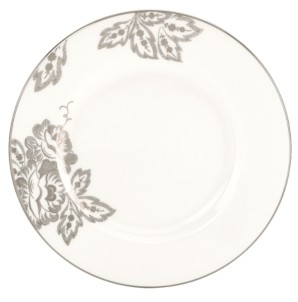 Lenox L By Dinnerware, Floral Waltz Salad Plate