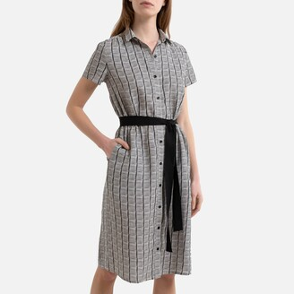 Harris Wilson Dicka Linen Dress with Short Sleeves