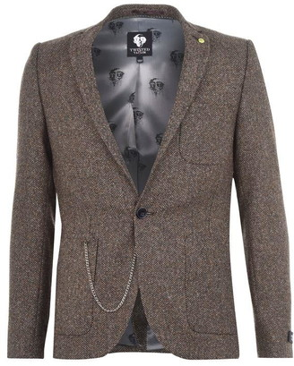 Twisted Tailor Tweed Suit Jacket