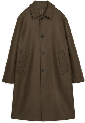 Arket Melton Wool Overcoat
