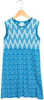 Milly Minis Girls' Patterned Knit Dress