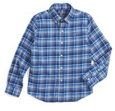 Vineyard Vines Toddler Boy's Star Island Flannel Shirt