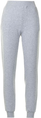 L'Agence Tapered Cotton Sweatpants