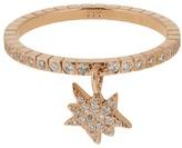 Diane Kordas Diamond & rose-gold Explosion ring