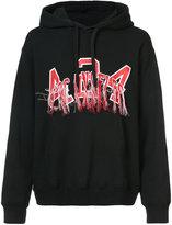 424 Fairfax slogan hoodie