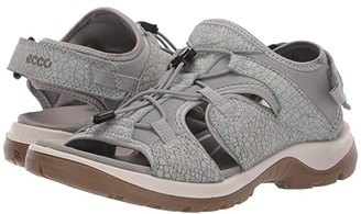 Ecco Sport Sport Offroad Toggle Sandal (Ice Flower/Cocoa Brown) Women's Shoes