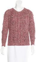 Etoile Isabel Marant Cable Knit Crewneck Sweater
