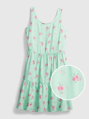 Gap Kids Floral Babydoll Dress
