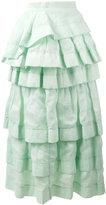 Ermanno Scervino frill layered skirt - women - Ramie/Polyamide - 44