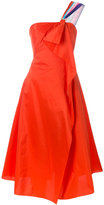 Peter Pilotto One shoulder taffeta prom dress