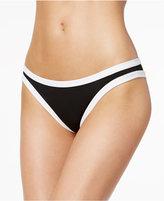 Bar III Colorblocked Cheeky Bikini Bottoms, Created for Macy's Women's Swimsuit