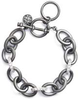 Freida Rothman Women's Contemporary Deco Heavy Chain Bracelet