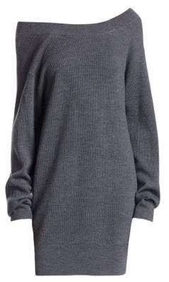 Alexander Wang Double Layer Sweater Dress