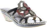 Spring Step L'Artiste Leather Slide Sandals - Enah
