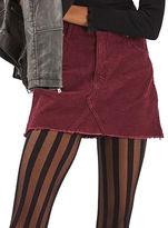 Topshop MOTO Corduroy High Waist Skirt