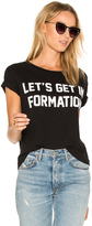 Private Party Let's Get In Formation Tee