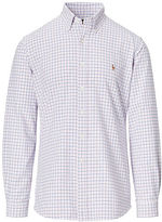 Ralph Lauren Big & Tall Plaid Cotton Oxford Shirt