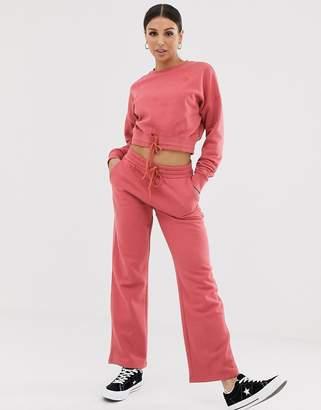Converse Dusty pink Straight Leg sweatpants