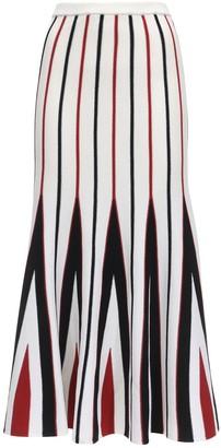 Gabriela Hearst Lvr Sustainable Virgin Wool Midi Skirt