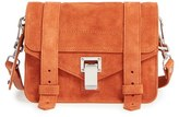 Proenza Schouler 'Mini PS1' Suede Crossbody Bag