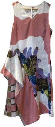 Clover Canyon Pink Silk Dress for Women