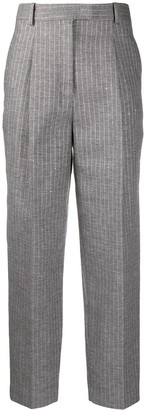 Ermanno Scervino Striped Tailored Trousers