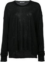 Alexander Wang knitted sweater - women - Cashmere - XS