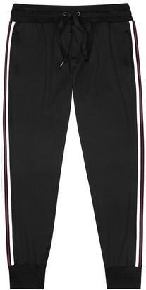 Dolce & Gabbana Black jersey sweatpants