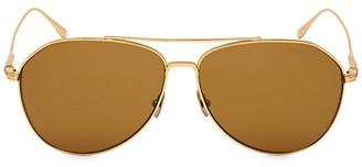 Tom Ford Cyrus 62MM Aviator Sunglasses