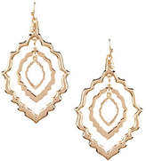 Natasha Accessories Moroccan Orbital Drop Earrings