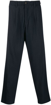 White Sand tapered relaxed-fit trousers