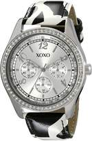 XOXO Women's Dial and Giraffe Strap Watch XO3170