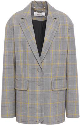 Zimmermann Checked Cotton-blend Blazer